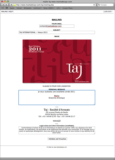 taj international société d'avocats